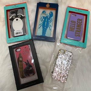 Lot of iPhone 5/5s Designer Cases